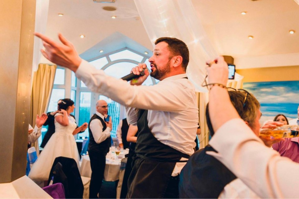 Singing Waiters for Weddings UK