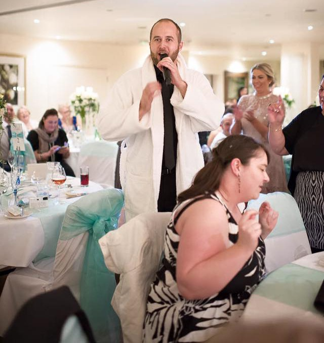 Singing Waiters for Weddings Yorkshire
